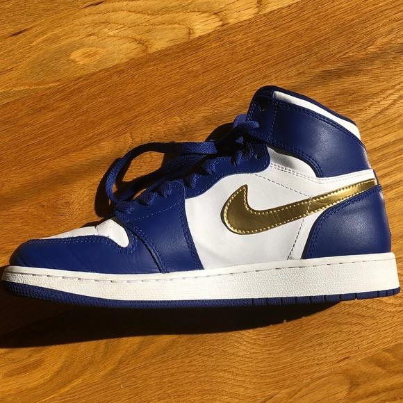 Nike Other - Air Jordan 1 Retro High 'Gold Medal'